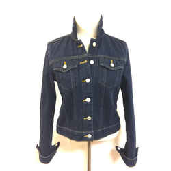 RALPH LAUREN  - Polo Jeans Co. - Navy-Blue Cotton Denim Fashion Jean Jacket