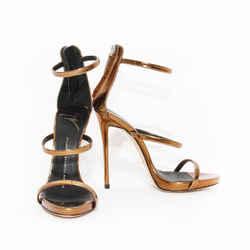Zanotti Three Strap Heel