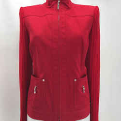 St John Red Canvas Jacket Small