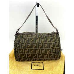 Fendi Zucca Soft Canvas Hand bag or small duffle bag w/organizing insert B222
