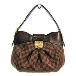 Louis Vuitton Damier Sistina MM N41541 Women's Shoulder Bag Ebene BF517965