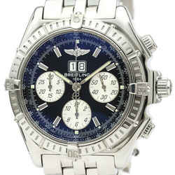 Polished BREITLING Crosswind Special Steel Automatic Mens Watch A44355 BF521127
