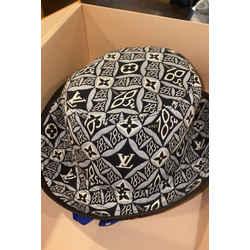 Louis Vuitton Rare 2021 Since 1854 Black Monogram Bucket Hat Fisherman Cap 861063