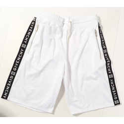 Givenchy Jersey Shorts with Logo Side Bands