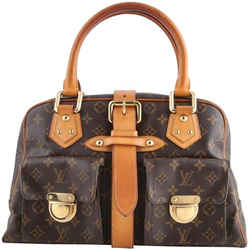 Louis Vuitton Manhattan GM Shoulder Bag Brown One Size Authenticity Guaranteed