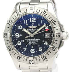 Polished BREITLING Colt Stainless Steel Automatic Mens Watch A17380 BF525037