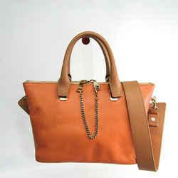 Chloe Baylee S1708820-20Q Women's Leather Handbag Beige,Pink BF507923