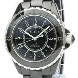 Polished CHANEL J12 Ceramic Automatic Mens Watch H0685 BF534550