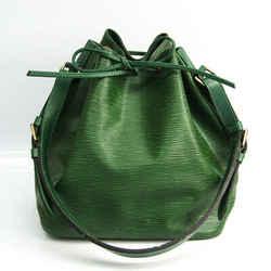Louis Vuitton Epi Petit Noe M44104 Women's Shoulder Bag Borneo Green BF519857