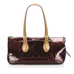 Vintage Authentic Louis Vuitton Purple Vernis Rosewood France