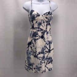 Alexander Wang Blue Leather Dress 0