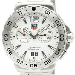 Never Used TAG HEUER Formula 1 Grand Date Alarm Steel Watch WAU111B BF515702