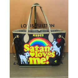Louis Vuitton Satan Loves Me Neverfull Pm Rare 11.4L x. 5.1W x 8.7H