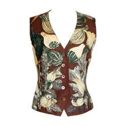 Hermes Vest Scarf Print Citrouilles Et Coloquintes Vintage 40 / 6