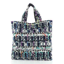 Beach Tote Printed Terry Cloth Large