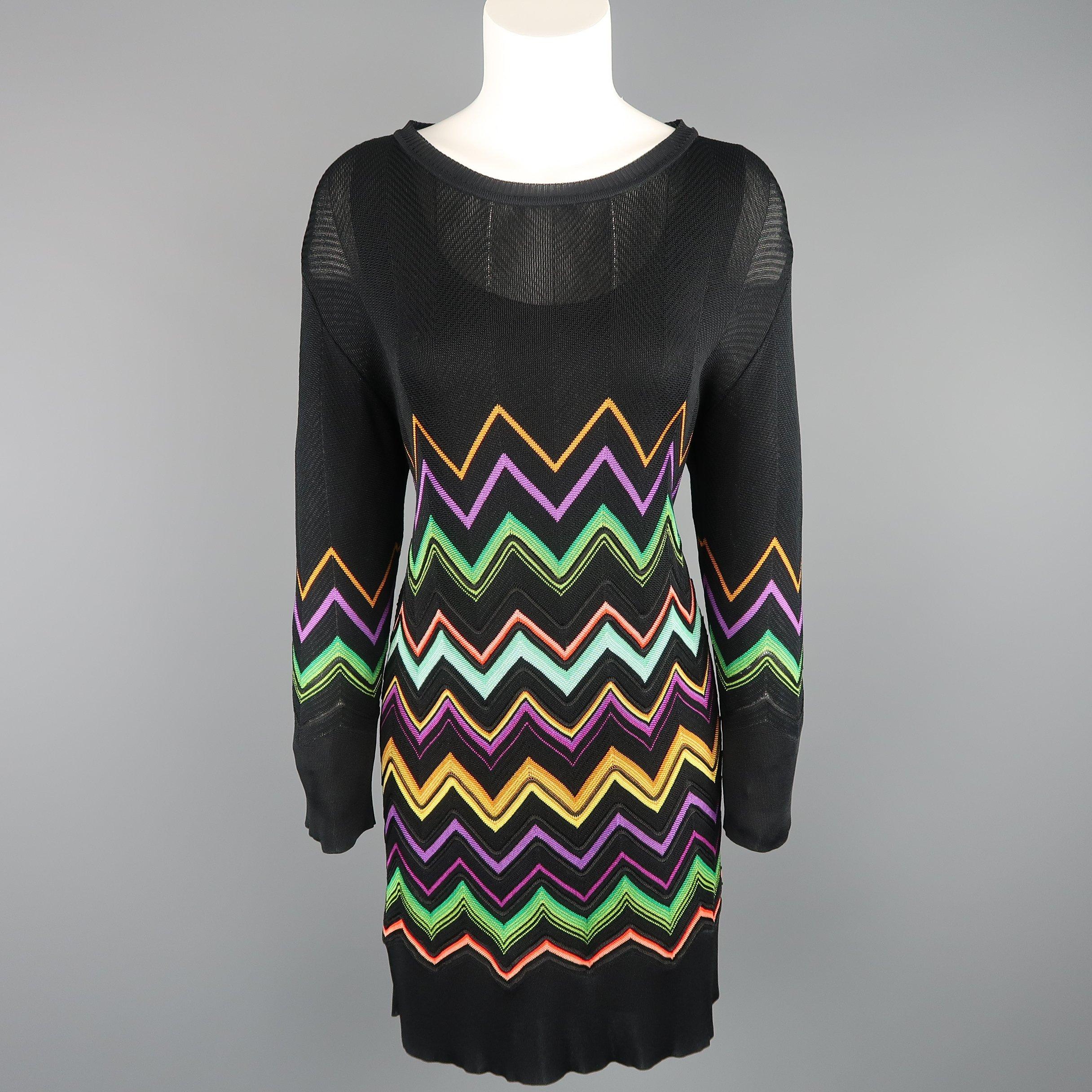 1940s Chevron Stripe Grey /& Black Satin dress