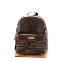 Nigo Campus Backpack Limited Edition Giant Damier and Monogram Canvas