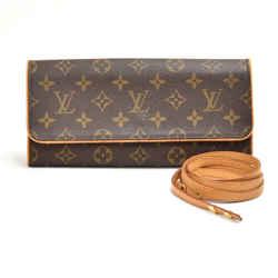 Louis Vuitton Pochette Twin GM Monogram Canvas Shoulder Bag LT690