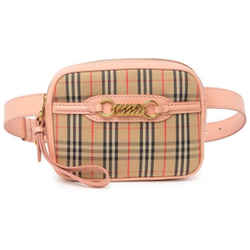 NEW Burberry Beige 1983 Check Link Waist Bag Fanny Pack Bum Bag