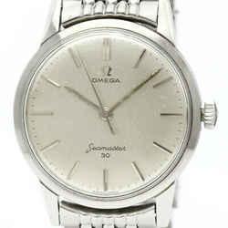 Vintage OMEGA Seamaster 30 Cal 286 Rice Blacelet Steel Watch 135.003 BF518499