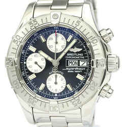 Polished BREITLING Chrono Super Ocean Steel Automatic Mens Watch A13340 BF531822