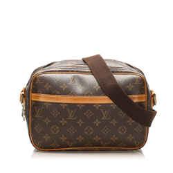 Brown Louis Vuitton Monogram Reporter PM Bag