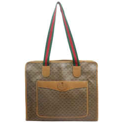 Gucci Micro GG Monogram Web Zip Tote Bag 863077
