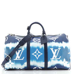Keepall Bandouliere Bag Limited Edition Escale Monogram Giant 50