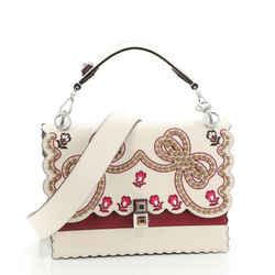 Kan I Bag Embroidered Studded Leather Medium
