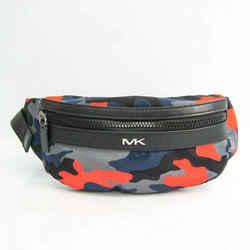 Michael Kors 37S0MKNC2R Unisex Leather,Nylon Fanny Pack Black,Gray,Navy BF532395