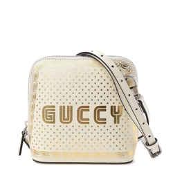 Gucci Calfskin Mini Guccy Shoulder Bag Moon Steller Crossbody Dome 860305