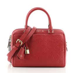 Speedy Bandouliere Bag Monogram Empreinte Leather 25