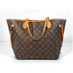 Louis Vuitton Monogram Neverfull Mm With Beige Interior Tote Shoulder Handbag
