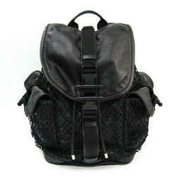 Givenchy Men's Leather Backpack Black BF518097