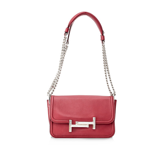 Pre-Owned Tod's Mini Double T Crossbody Bag
