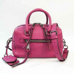 Marc Jacobs Recruit Small Bauletto M0009632 Women's Leather Handbag,Sho BF530734