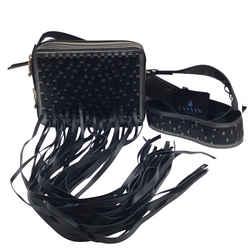 Lanvin Camera Bag With Long Fringe