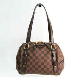 Louis Vuitton Damier Rivington PM N41157 Shoulder Bag Ebene BF504893