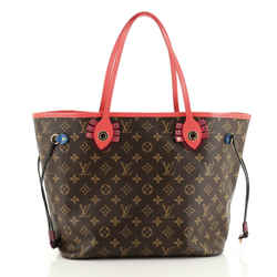 Neverfull NM Tote Limited Edition Totem Monogram Canvas MM