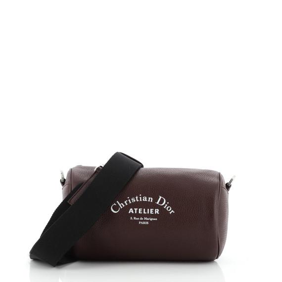 Roller Shoulder Bag Leather