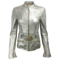 Roberto Cavalli Metallic Jacket