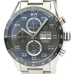Polished TAG HEUER Carrera Calibre 16 Chronograph Day Date Watch CV2A1U BF525854