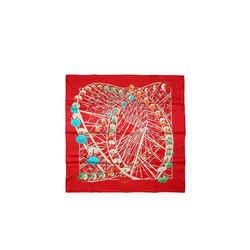 Hermes Grande Roue 90 Cm Silk Scarf