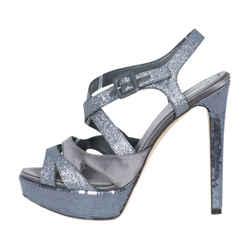 Christian Dior Glitter Strappy Sandals