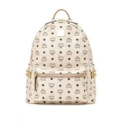 Pre-Owned MCM Side Studs Stark Backpack