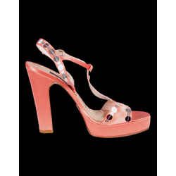 MARC JACOBS Satin Sequin Sandals