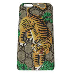 New/authentic Gucci 451471 Gg Supreme Bengal Iphone 6 Phone Cover