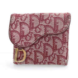 Dior Saddle Flap Card Holder