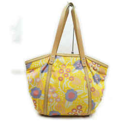 Chanel Yellow Floral Shopper Tote bag  861727