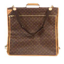 Vintage Authentic Louis Vuitton Brown Monogram Portable 5 Cintres France